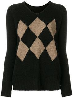 свитер с V-образным вырезом  Sottomettimi