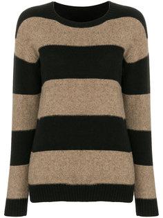 свитер в полоску с круглым вырезом  Sottomettimi