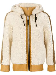 двухсторонняя куртка из овчины Coach