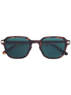 квадратные солнцезащитные очки с эффектом черепашьего панциря Eyevan7285