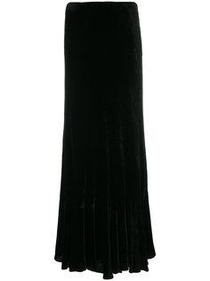 длинная расклешенная юбка Alberta Ferretti