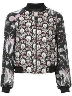 jacquard bomber jacket Giamba