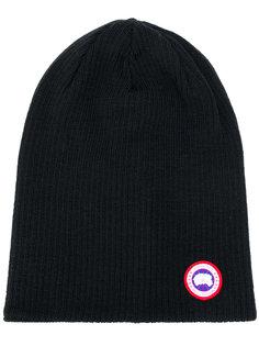 шапка с нашивкой логотипа Canada Goose