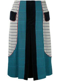 плиссированная юбка Prince of Wales Mary Katrantzou