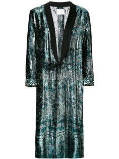длинное пальто-кимоно  Forte Forte