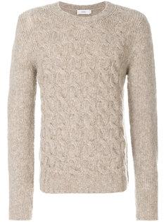 свитер вязки косичкой Closed