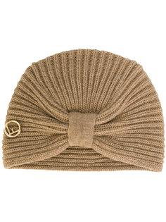 вязанная шапка с бантом Fendi