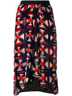 платье миди с принтом Tursanne Isabel Marant