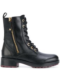 байкерские ботинки на молнии Tommy Hilfiger