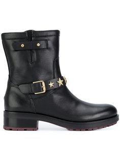 ботинки с заклепками-звездами Tommy Hilfiger