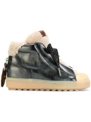 ботинки на рифленой подошве Coach