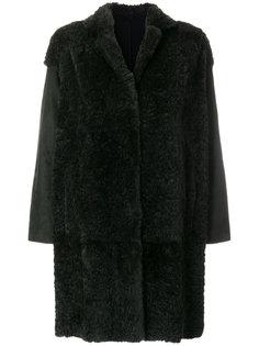 свободное пальто с рукавами клеш  Salvatore Santoro