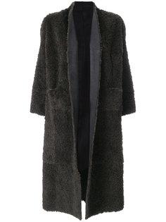 свободное пальто с укороченными рукавами  Salvatore Santoro