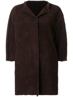 пальто с укороченными рукавами  Salvatore Santoro