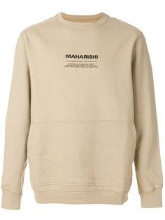 толстовка с длинными рукавами  Maharishi