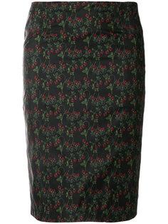 юбка-карандаш с цветочным принтом Roseanna