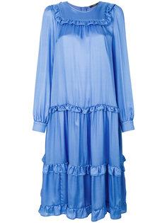ярусное свободное платье Odeeh