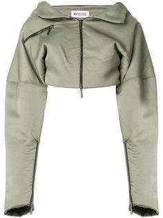 укороченная куртка с заниженной линией плеч  Maticevski