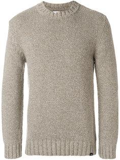 свитер с круглым вырезом Edwin