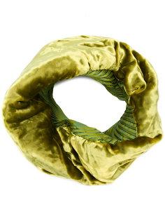 бархатный шарф-снуд Issey Miyake