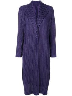 плиссированный удлиненный пиджак Pleats Please By Issey Miyake