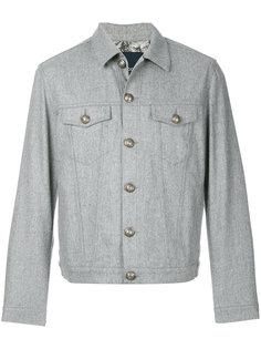легкая приталенная куртка  Jacob Cohen