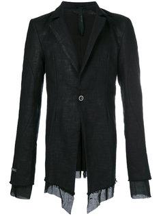 приталенный пиджак с бахромой Army Of Me