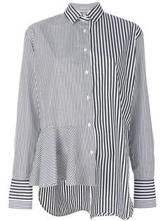 расклешенная рубашка в полоску  MRZ