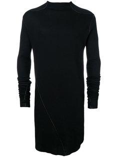 удлиненный приталенный свитер  Army Of Me