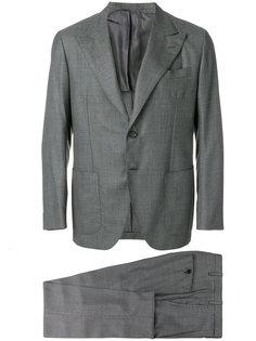 костюм кроя слим Kiton