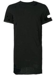 приталенная футболка с потертой отделкой Army Of Me