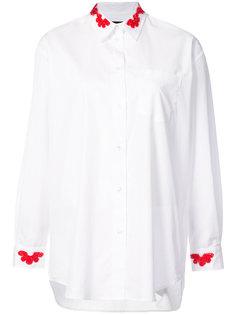 рубашка с аппликацией из бисера Simone Rocha
