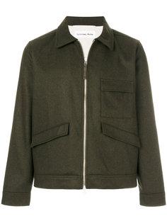 легкая куртка с накладными карманами Universal Works