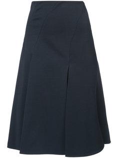 расклешенная юбка с завышенной талией Carven