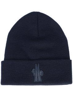 шапка ребристой вязки Moncler Grenoble