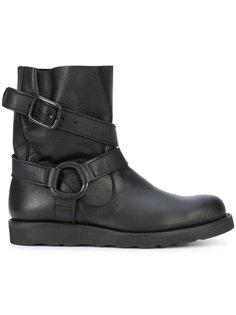 ботинки с ремешками Yohji Yamamoto