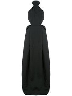длинное платье с вырезными деталями Rosie Assoulin