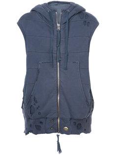 куртка без рукавов  Greg Lauren