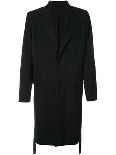 однобортное пальто Ann Demeulemeester