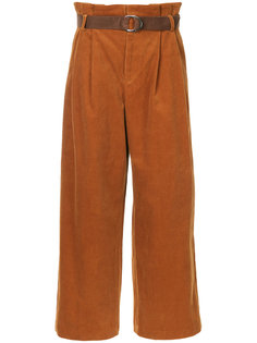 corduroy pleated trousers G.V.G.V.