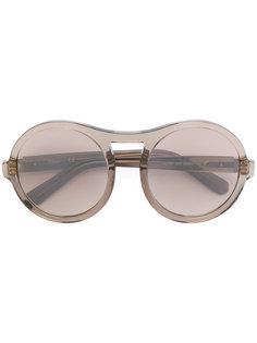 круглые солнцезащитные очки Chloé Eyewear