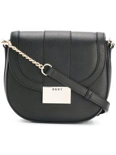 сумка через плечо округлой формы DKNY