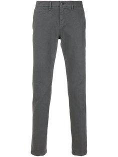 саржевые брюки-чинос  Fay