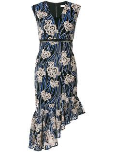 платье асимметричного кроя Fleur Three Floor