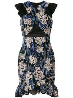 платье Paradiso с цветочным принтом Three Floor
