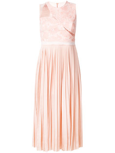 платье Starlight с плиссировкой и кружевом Three Floor