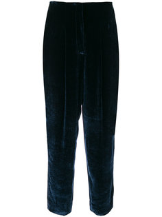 tied tapered trousers Incotex