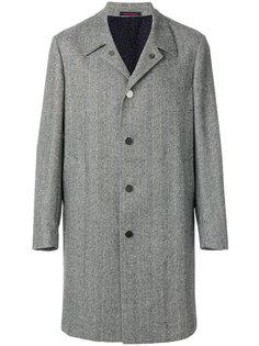 пальто с узором-елочкой The Gigi
