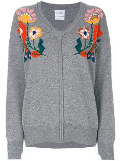 мешковатый свитер с вышивкой  Barrie