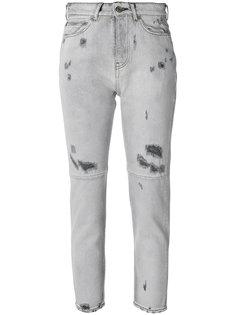 укороченные джинсы с эффектом потертости Golden Goose Deluxe Brand